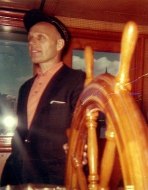 Alf Dyrland at the wheel Corrctd 1962.jpg