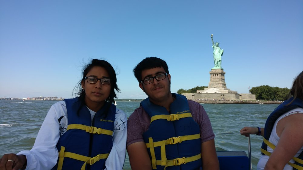 Sailed to the Statue of Liberty