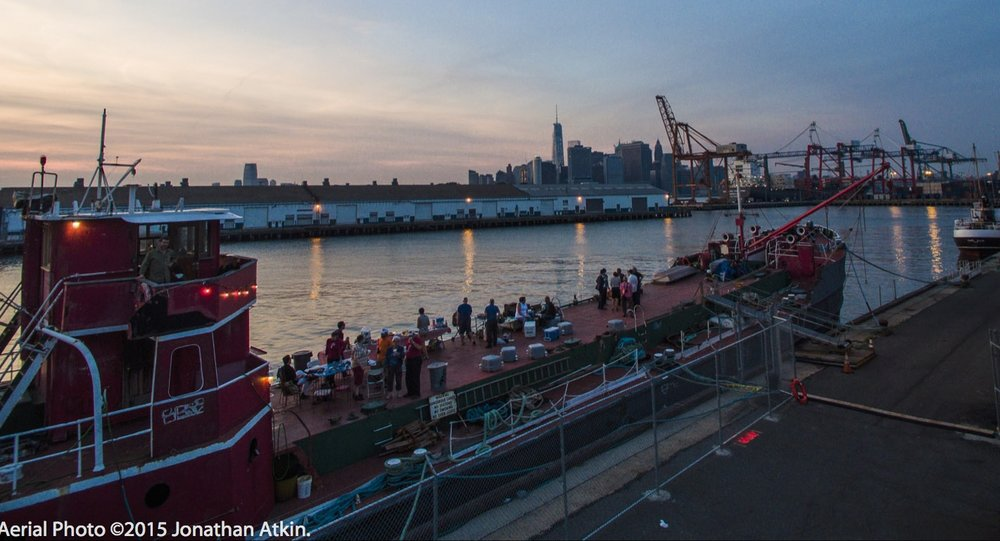 our historic ship mary a. whalen on pier 11, atlantic basin, red hook, brooklyn - our current site: