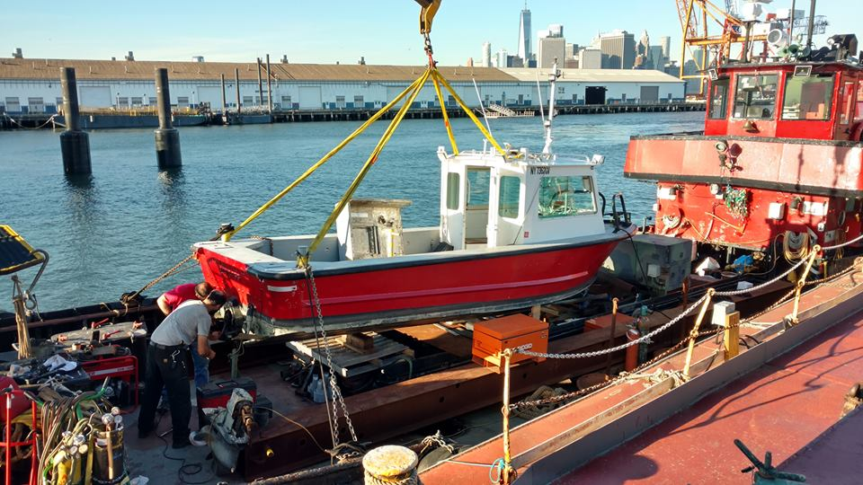 lehigh maritime is often running a Mini shipyard on site.