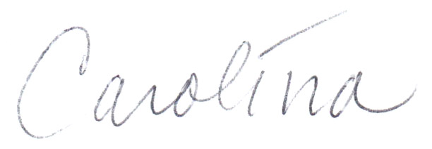 Carolina first name only signature.jpg