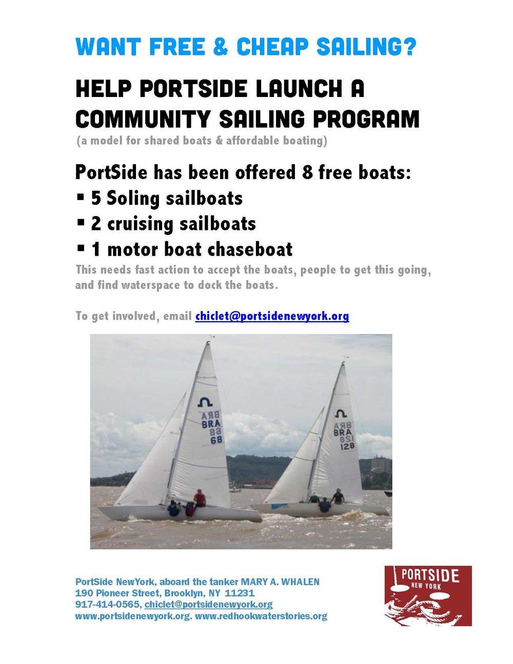 2018 PortSide NewYork Do you want Community Sailing.jpg