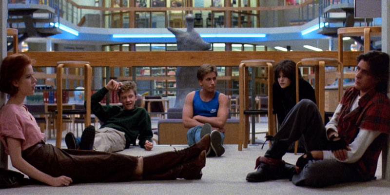 The Breakfast Club 27th Letter Productions