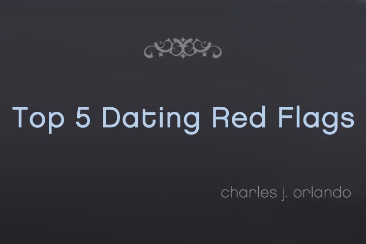 Dating at 50 red flags