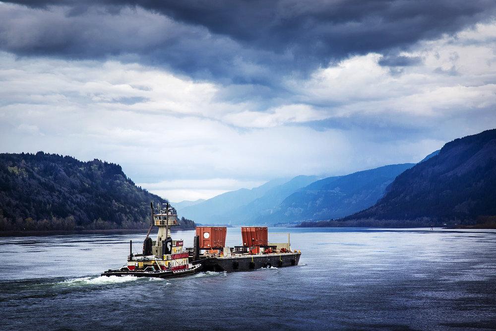2015-03-19 - 2015-04-10. OREGON / WASHINGTON STATE, USA.Transportation of ABB Transformator, From Vancouver Port to the site at The Dalles, Oregon, Usa.Foto: Gustav Mårtensson / ABB