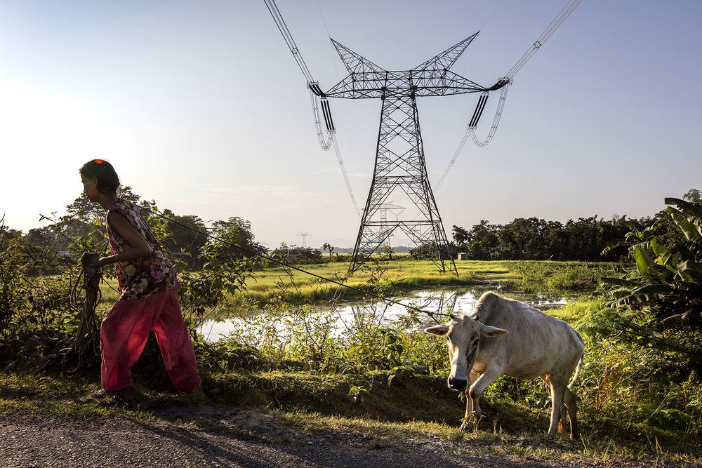 15-10-2015. INDIA. ASSAM. BNC SITEGeneral Images forn the area where the ABB BNC Site is located in Northeast India.Foto: Gustav Mårtensson / ABB