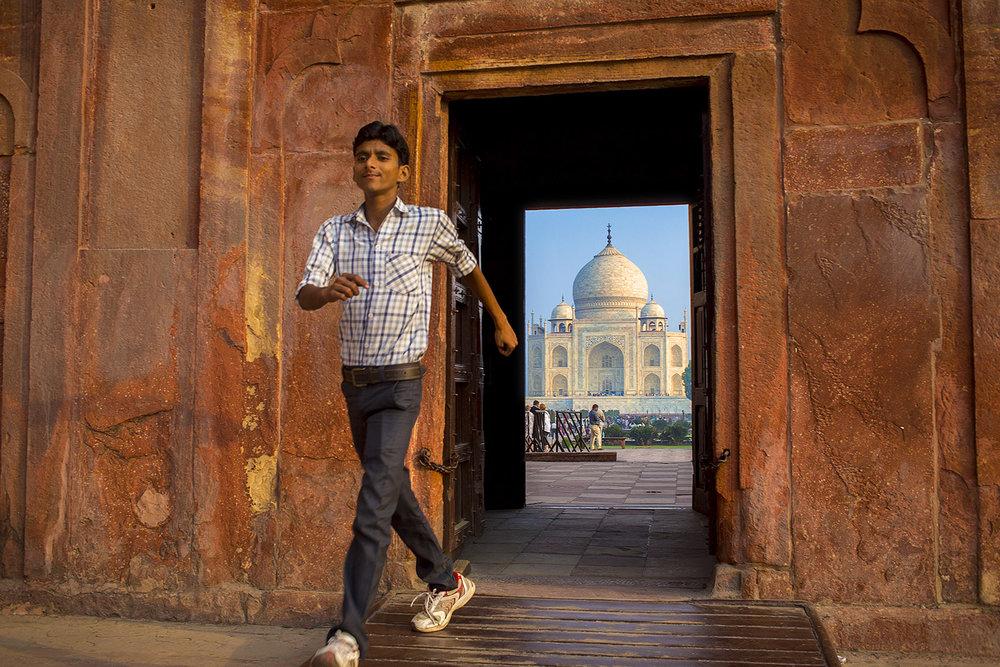 2015. INDIA. AGRA. Taj MahalFoto: Gustav Mårtensson / ABB