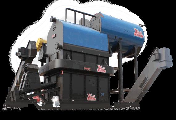 Hurst Biomass Boiler System