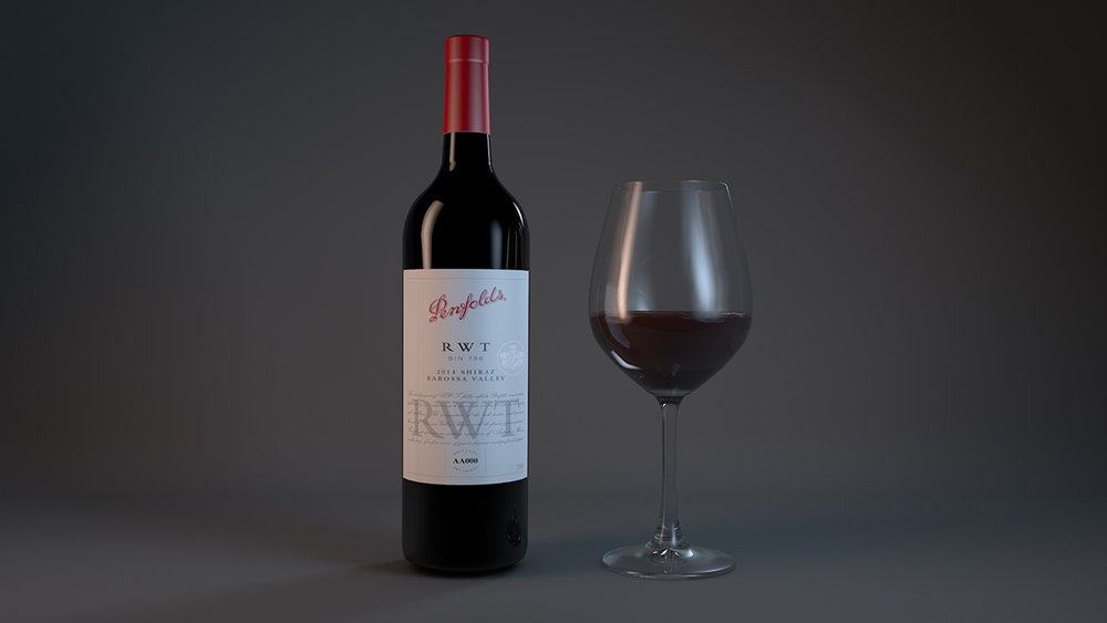 Kicked out a quick wine bottle for a client. Didn't really have enough time or label assets to get this print ready but does a good enough job for bottle spins and mock ups. The Real Flow plug in for C4D was used to create the wine in the glass. Even had some success dailing in a wine pour.