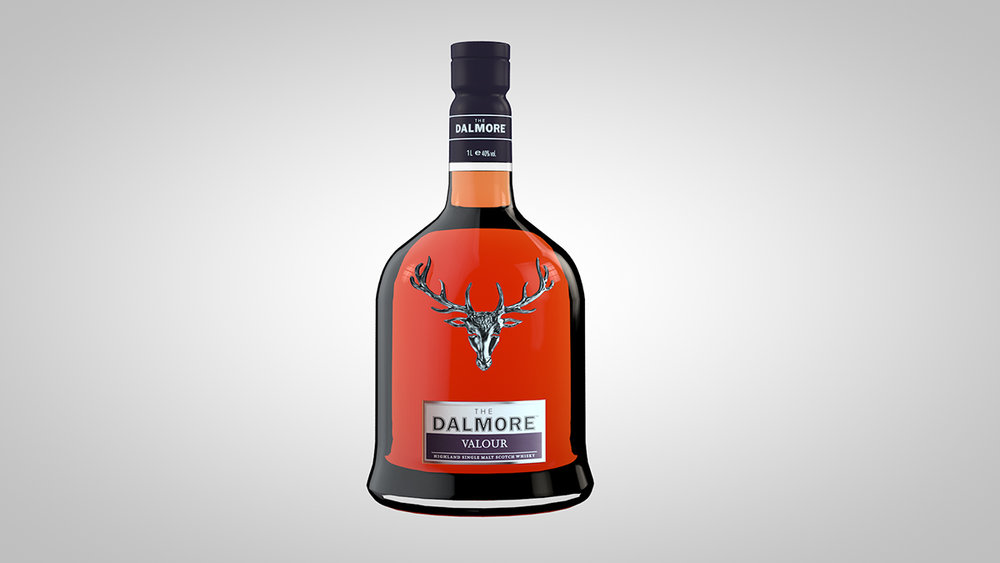 Keeping with the booze theme. A Dalmore whiskey bottle with C4D's built in physical renderer.