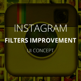 I love instagram. My favorite part is seeing what filters do to my images.  Can the filter selector be improved?  Yup.