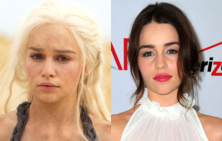 See Game of Thrones actors out of character