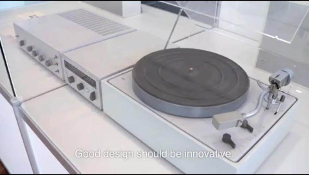 Good design should be innovative.