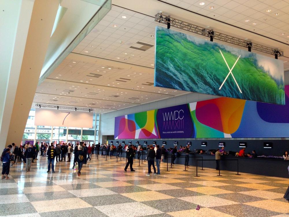 Moscone West - WWDC 2013 Registration
