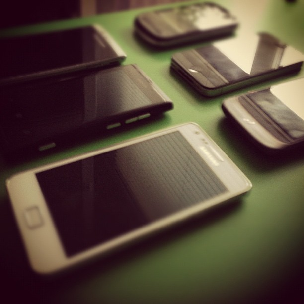 Selection of test devices