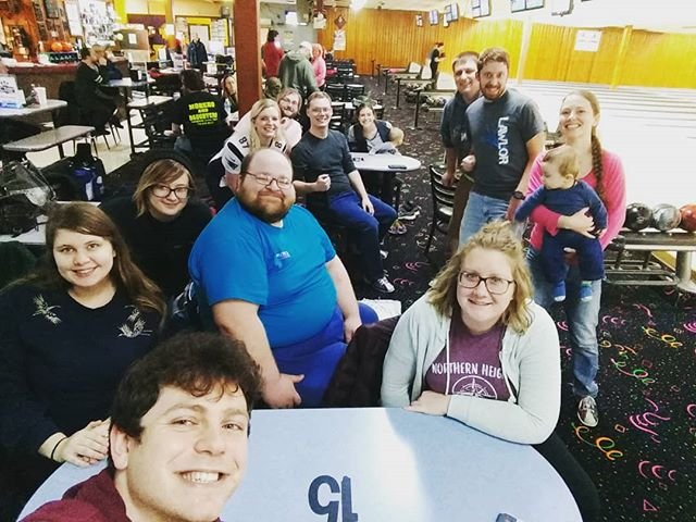 Great time bowling with the CofH young adults group! #cofhyag #cofhchurch #bowling🎳 #11thframe