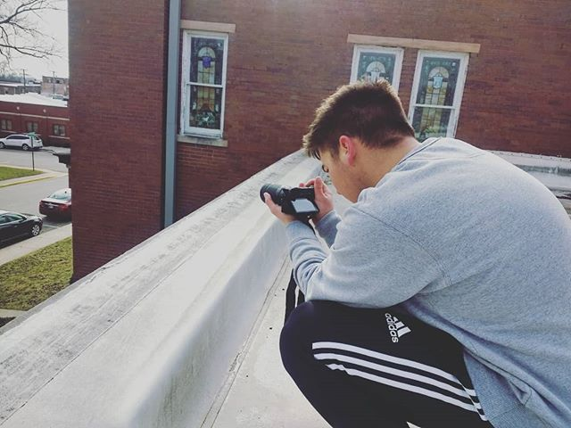 Thanks @gerry.g.photography for braving onto our roof for some nice pictures of the church! Can't wait to do it again!