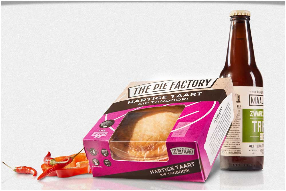 Concept voor The Pie Factory - Smilde Foods
