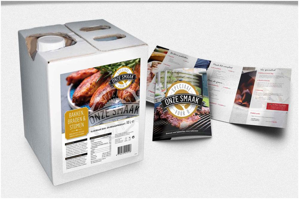 Onze Smaak - Food en retailconcept voor de professionele markt
