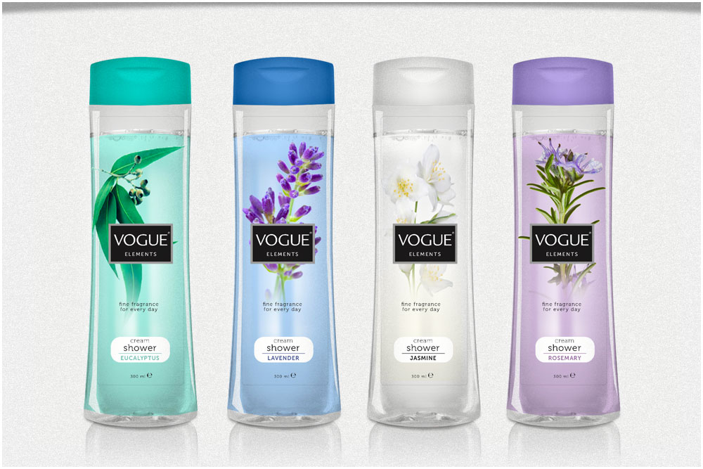 Packagingconcept en totale assortiment makeover concept Vogue