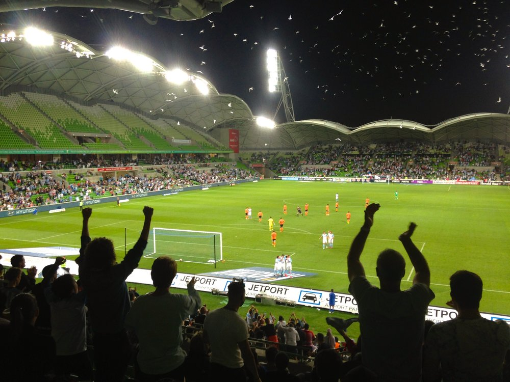Melbourne City's goal earned Collingwood City FC an extra $1000, as the featured club in the 'Goals for Grassroots' program in Round 9.