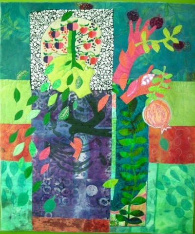 How to Make an Art Quilt, Again — susiemonday.art.ideas : how to make art quilts - Adamdwight.com