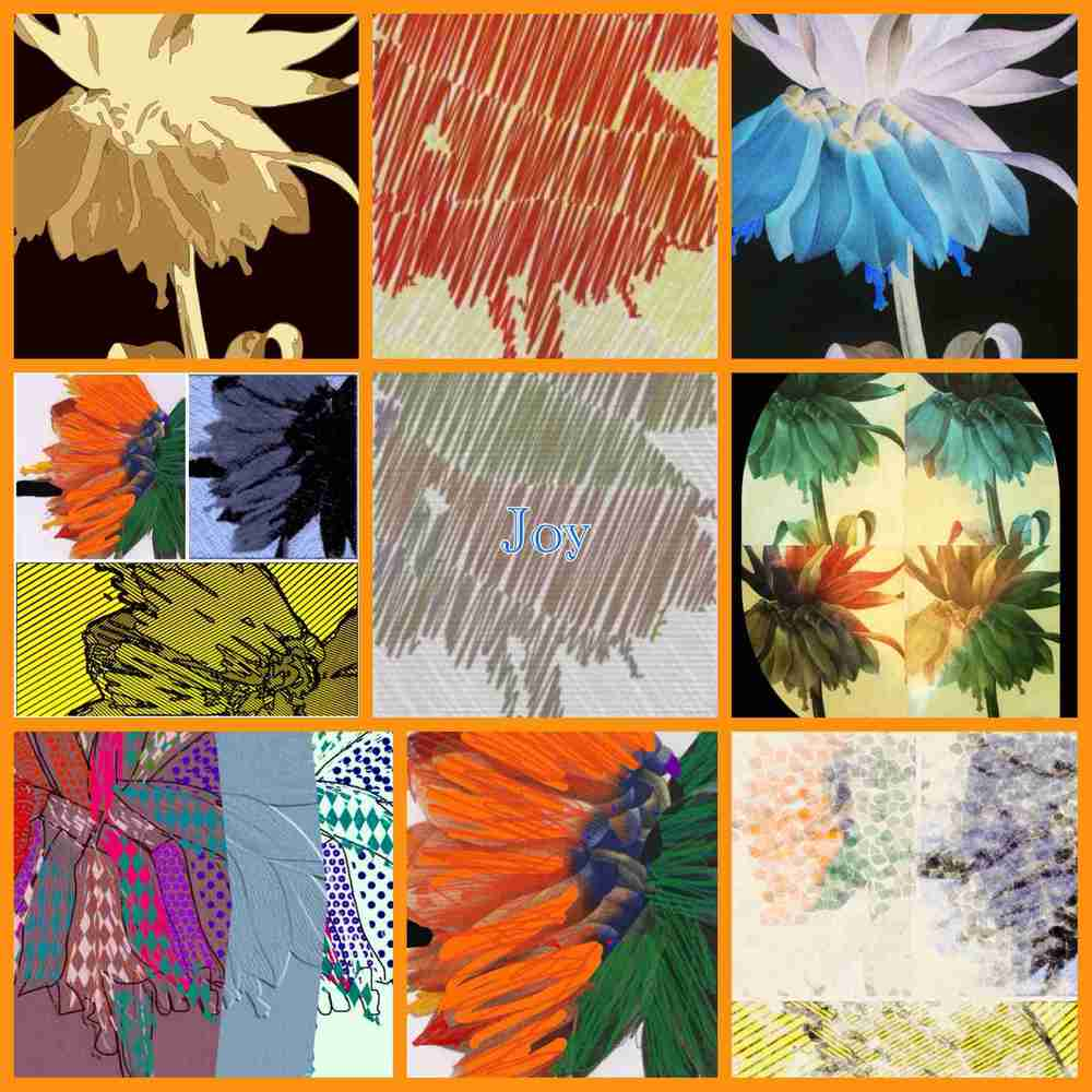 Learn to use your iPad to create great collages,quilt designs and more by joining one of my online or in-person workshops. This is from workshop participant Bonnie Davis.