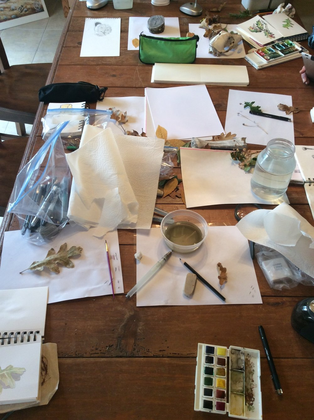 Drawing exercises, collage and design activities will form the foundation for original creative work for surface design and other art camp activities.