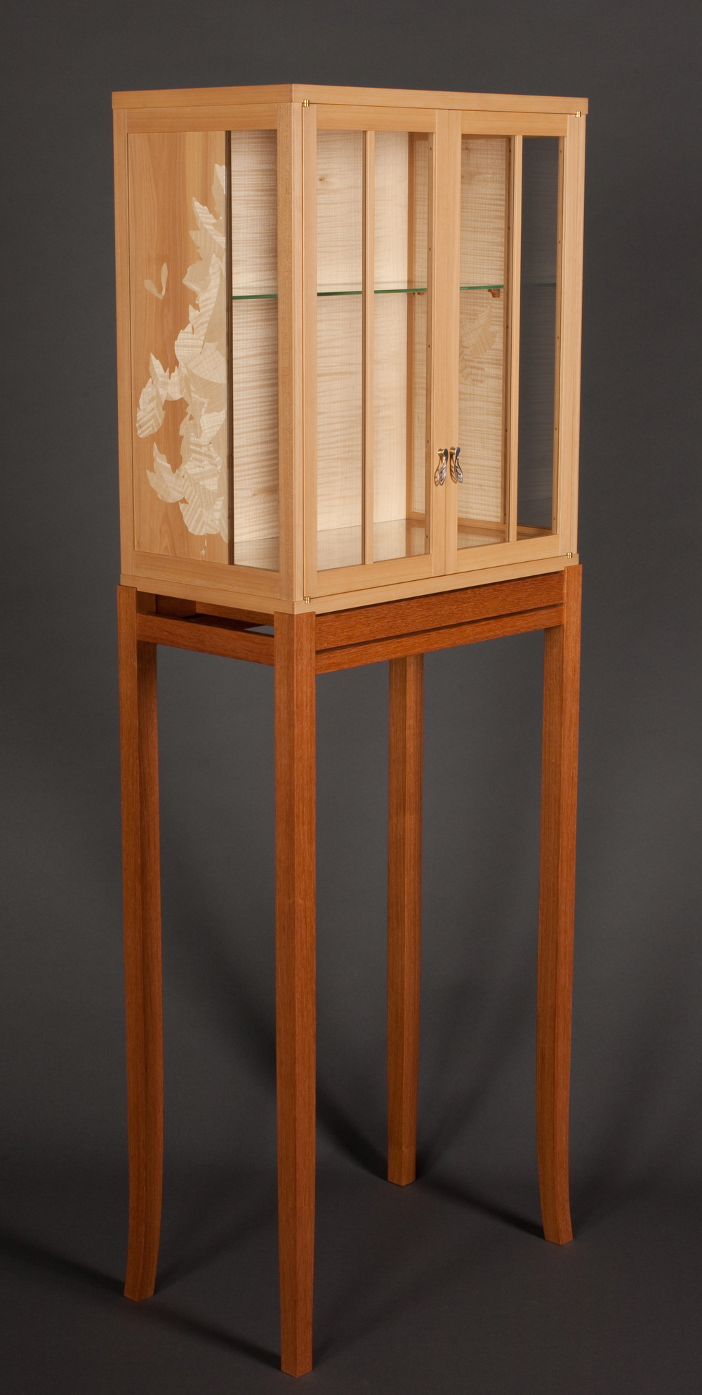 Sycamore Leaf Cabinet (2010)