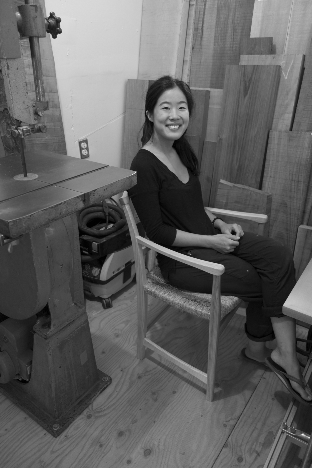 Caroline Woon - Resident Craftsman & Teaching Assistant