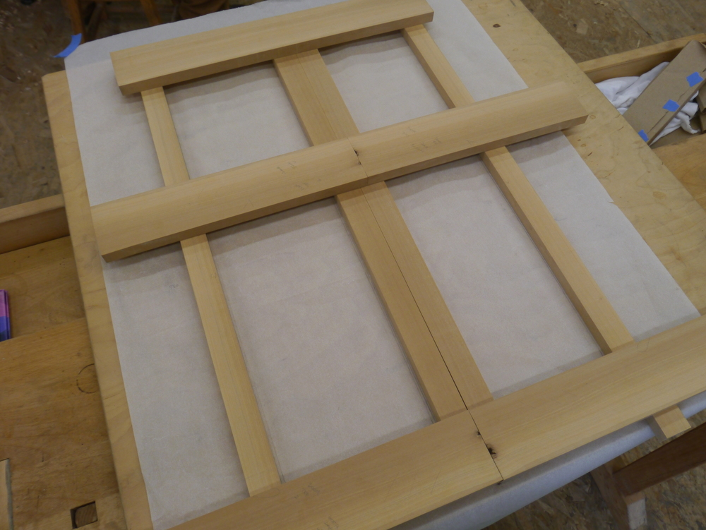 Parts for frame and panel doors