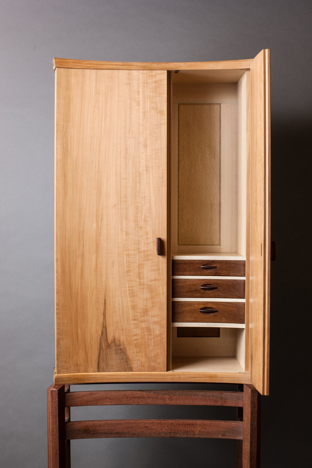 Interior of Composing Cabinet by  Refeal Greenblatt   Photography by Tim Andries