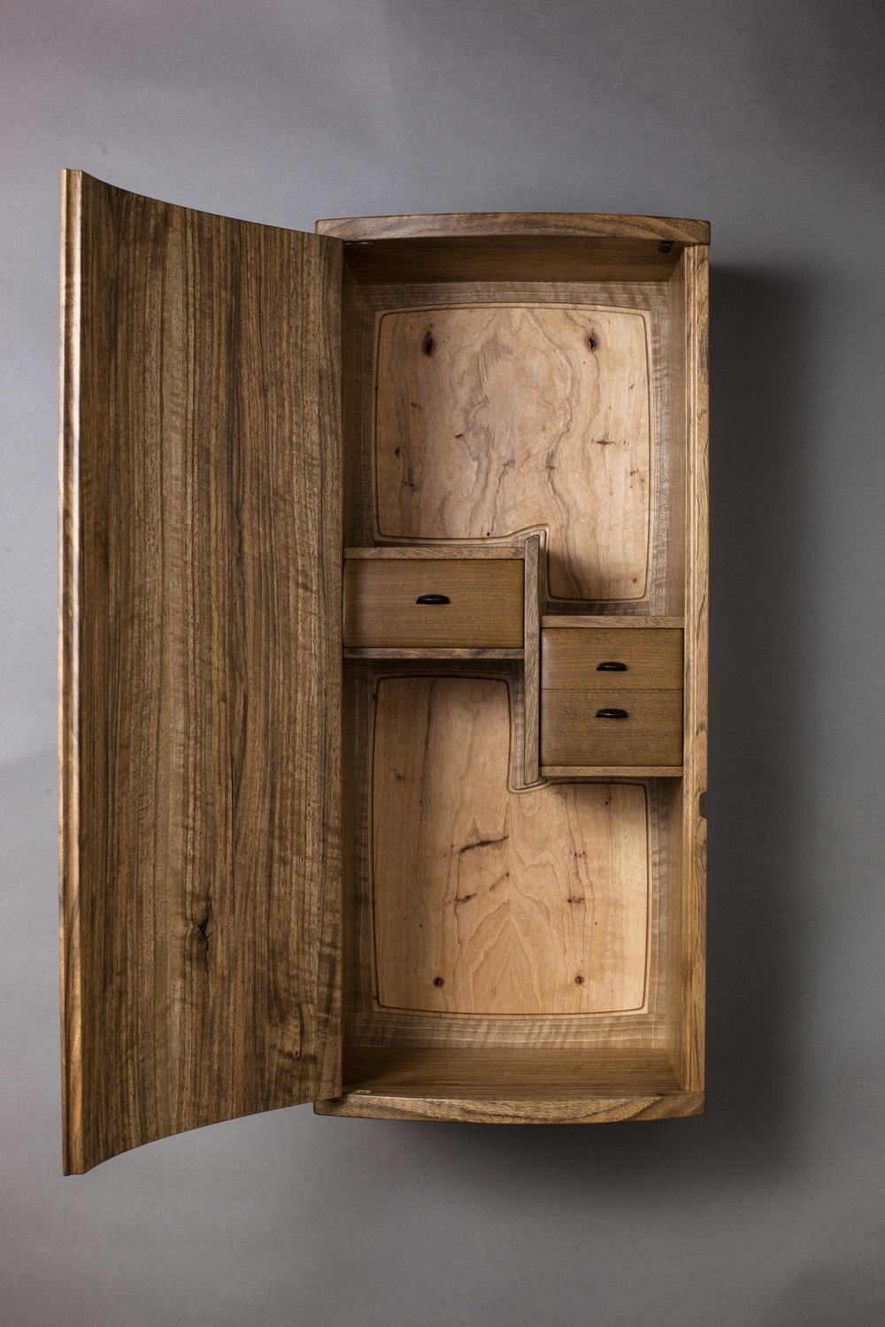 Detail of Upward Spiral Cabinet by Jessie Lafieur  Photography by Tim Andries
