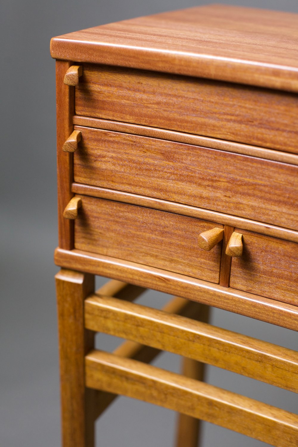 pull detail 'Heart' cabinet by Robert Van Norman  photography by Tim Andries