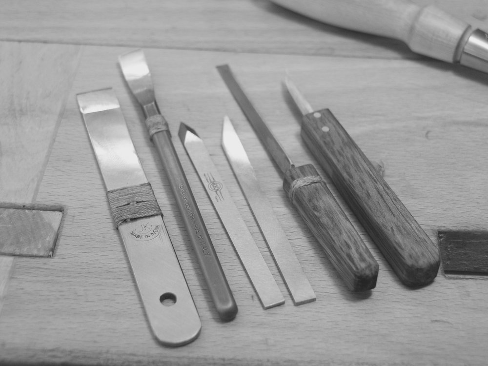 a few of Mario's shop made or modified tools