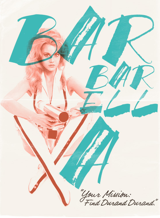 Barbarella design by Cheeky Design