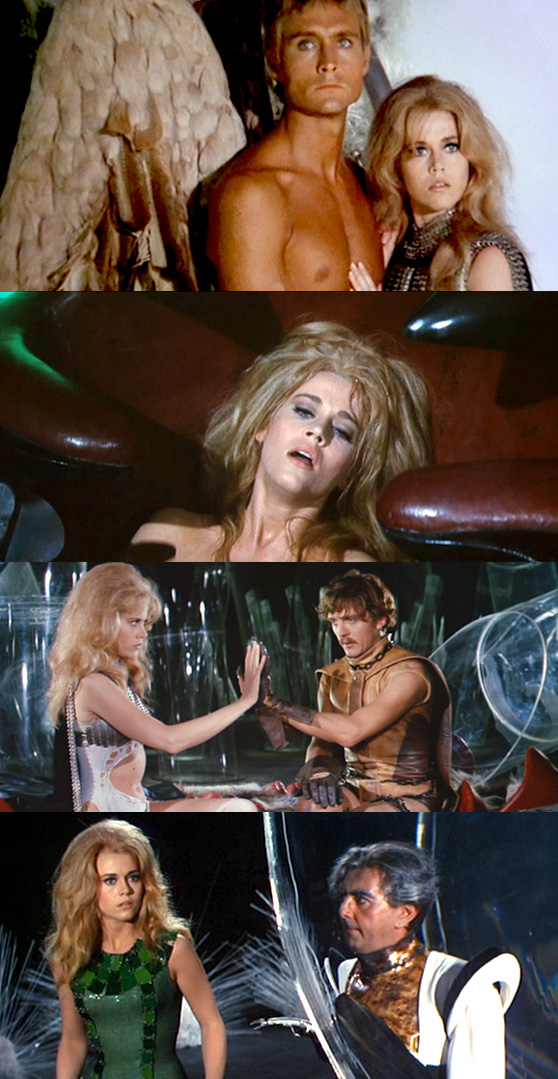 Barbarella film stills