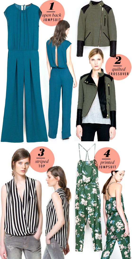 Zara Top Picks Fall 2013