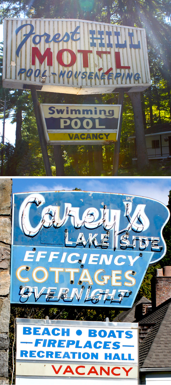 Lake George Signs on Cheeky Design