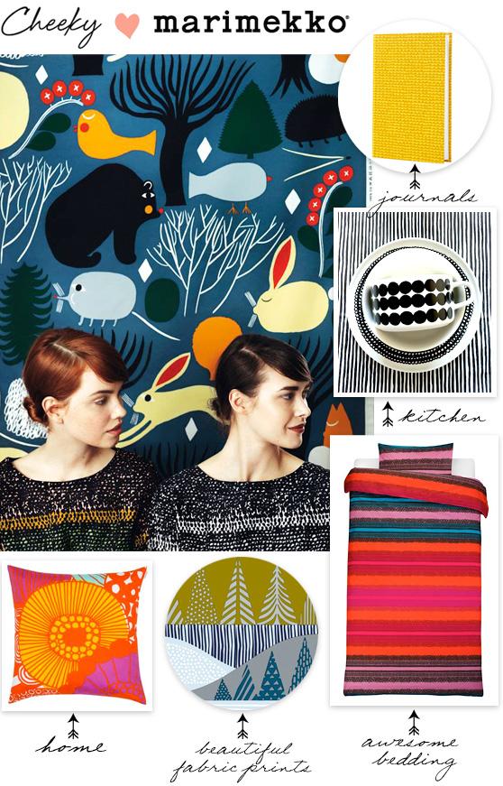 Marimekko love on Cheeky Design
