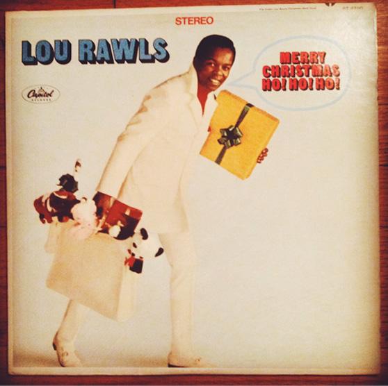 Lou Rawls Christmas on Cheeky Design