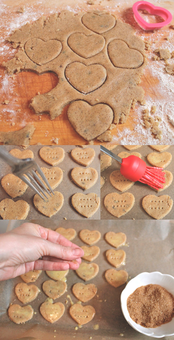 Lavender Shortbread Cookie Recipe on Cheeky Design
