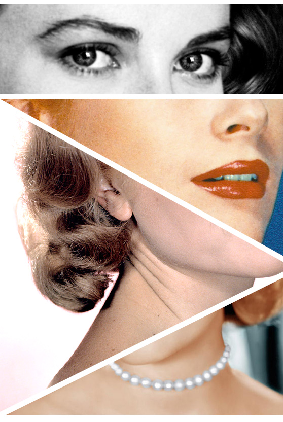 A Grace Kelly Composite on Cheeky Design