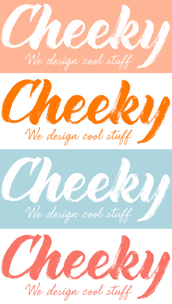 Cheeky Design Logo