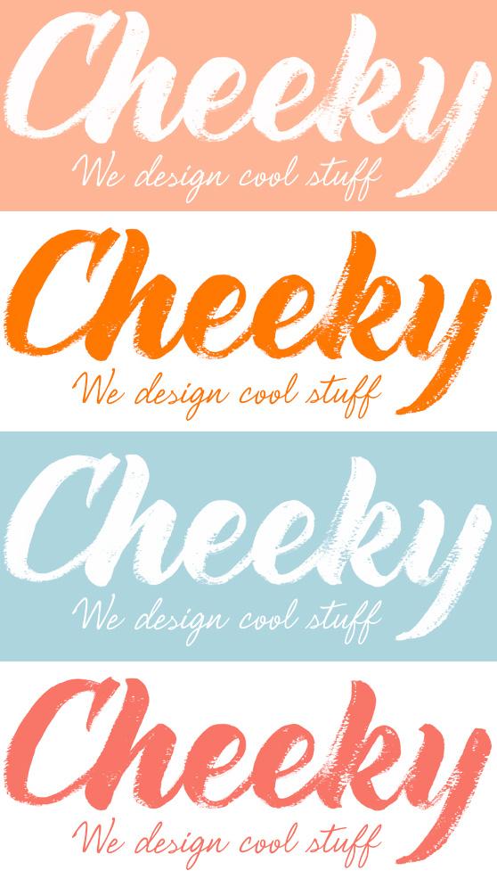 a cheeky logo � cheeky design