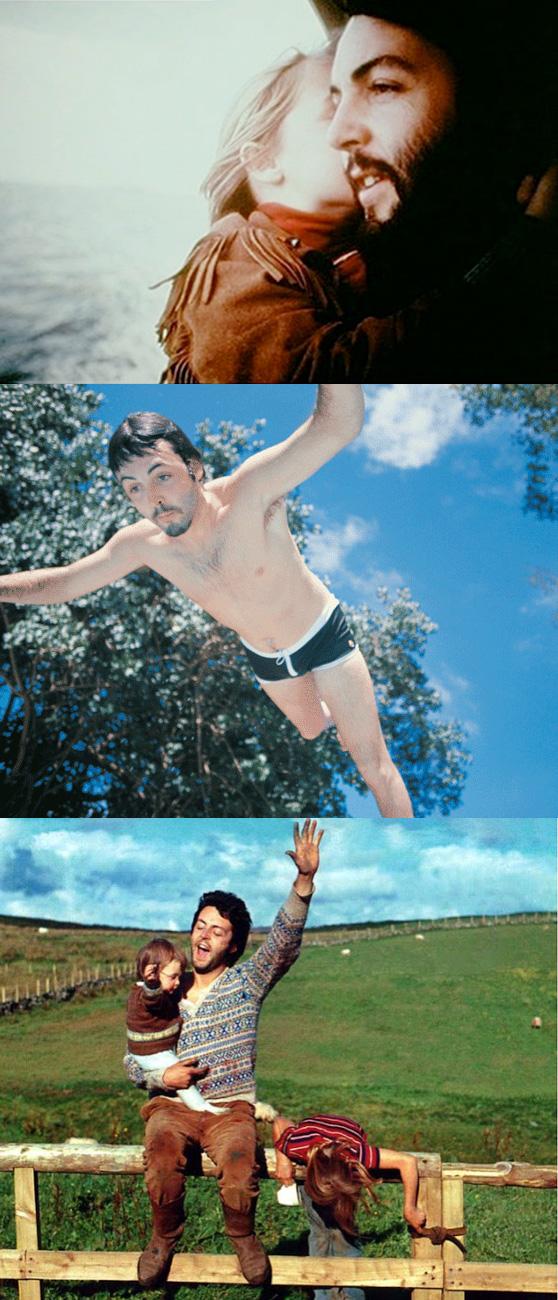 Linda McCartney Family Photos on Cheeky Design