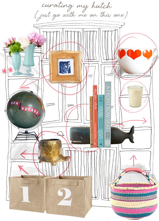 Curating a hutch on Cheeky Design