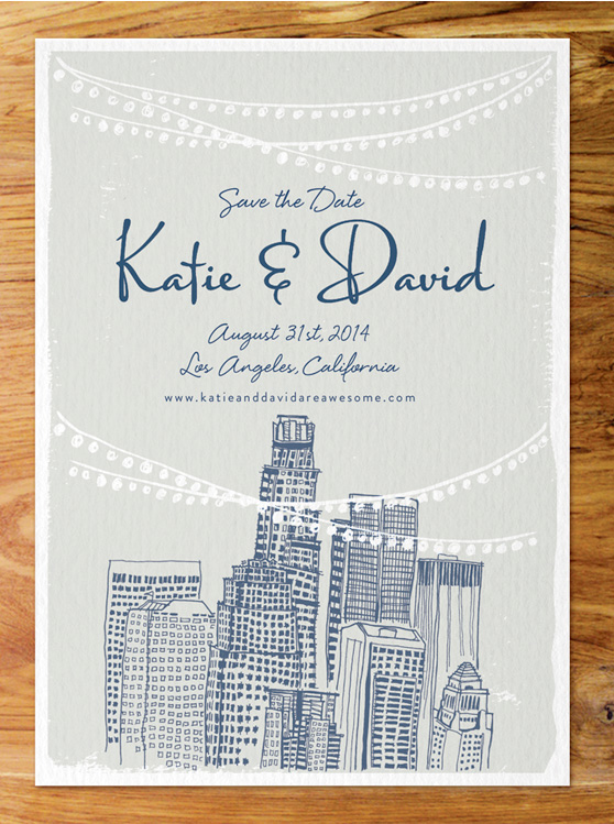 Save the Dates by Cheeky Design