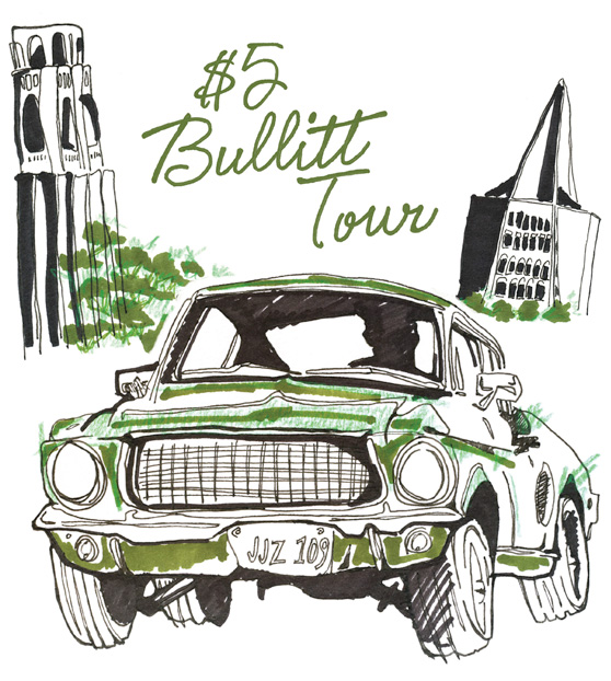 Bullitt Car Tour Daydream on Cheeky Design