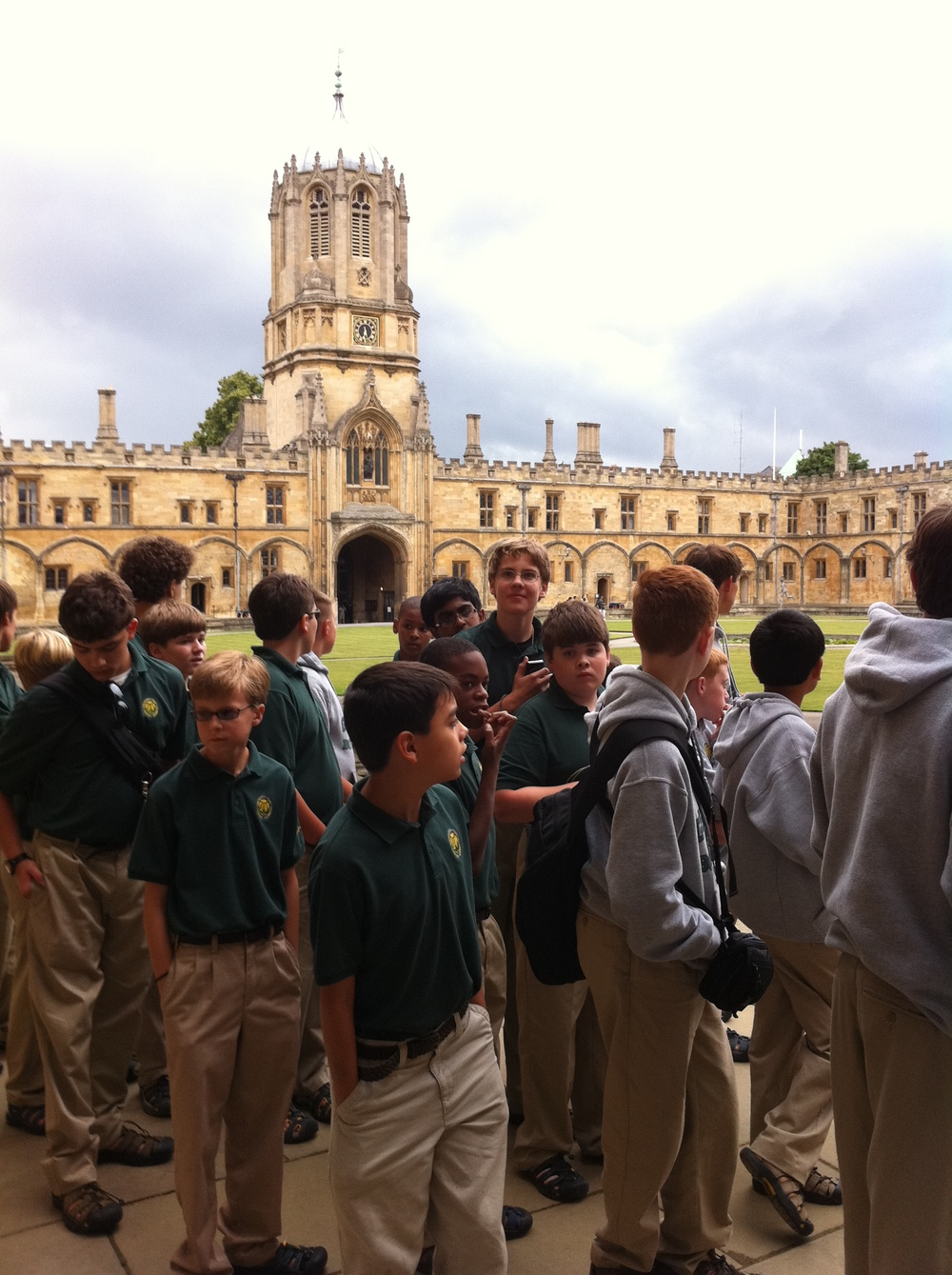 The Georgia Boy Choir at Christ Church Cathedral, Oxford, England